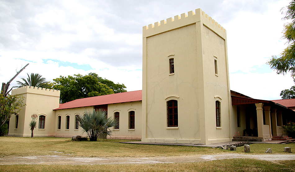 Built in 1896 as a military base and turned to a museum in 1983: The Old Fort in Grootfontein