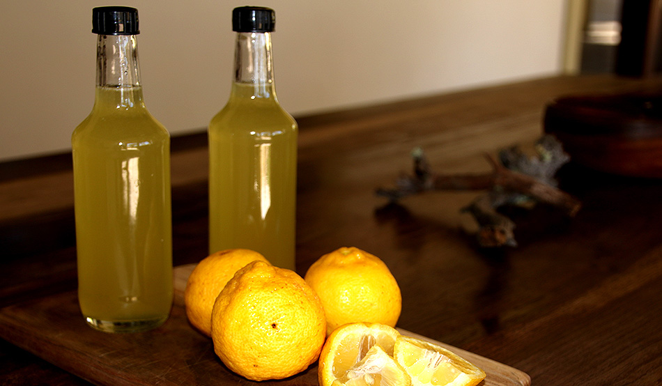 From the tree into the bottle: Lemon syrup is Ghaub's first farm product